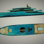 Уникальный концепт 75-метрового яхты от Bravo Yacht Design